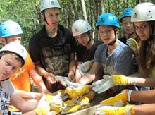 «Прогулка по деревьям». Белые перчатки – не пижонство, а мера предосторожности!